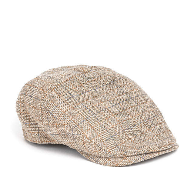 와일드브릭스WP CHECK HUNTING CAP (beige)