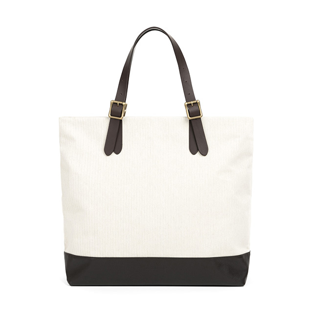 와일드브릭스CONVERTIBLE TOTE BAG (ivory)