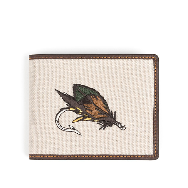 와일드브릭스FLY FISHING WALLET (dark brown)