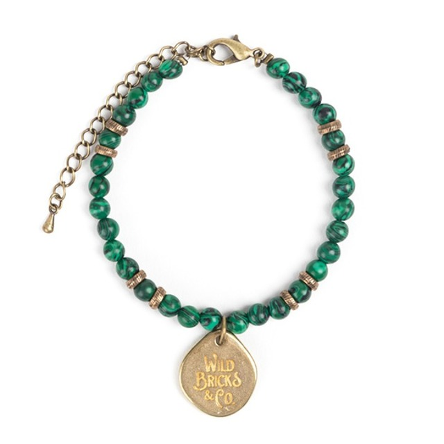 와일드브릭스TH GEMSTONE BRACELET (green)