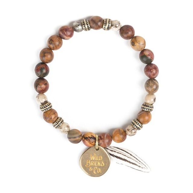 와일드브릭스FEATHER BRACELET (beige)