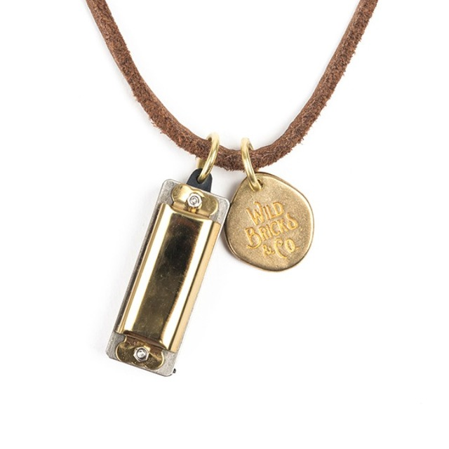와일드브릭스MINI HARMONICA NECKLACE