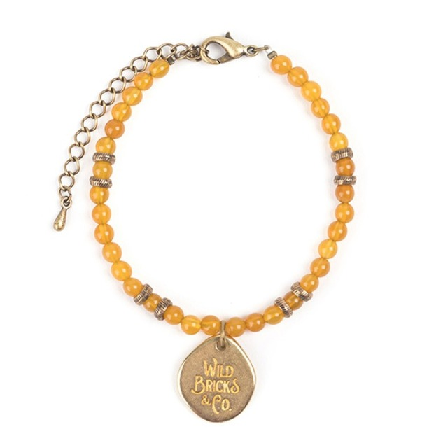 와일드브릭스TH GEMSTONE BRACELET (yellow)