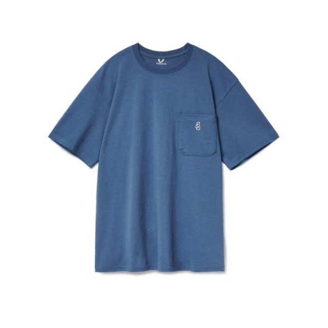 라모랭Paul Pocket T-shirts Deep Sea반팔 반팔티