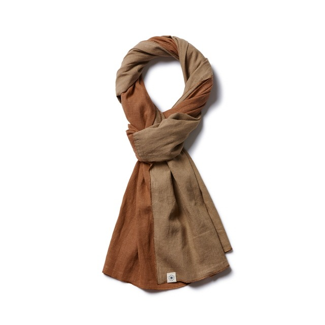 라모랭Light Short Stole 2-Way Loess of Desert머플러